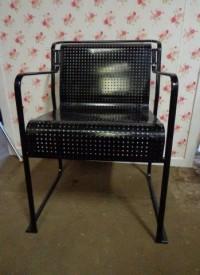 Stalen stoel