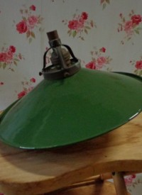 Emaillen hanglamp